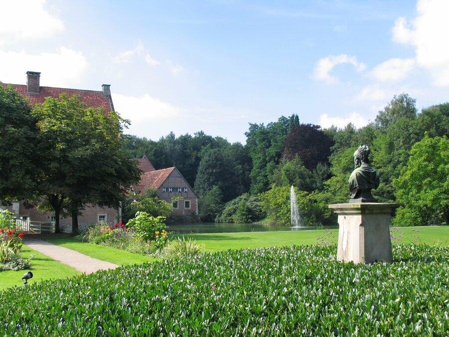 Parks at Burg Hülshoff and at Haus Rüschhaus